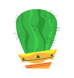 Isolated cactus icon vector