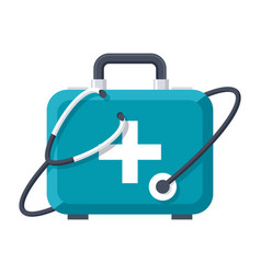 Medical services icon vector