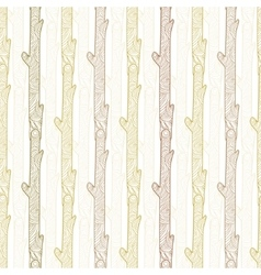 Wood logs stripes seamless pattern vector