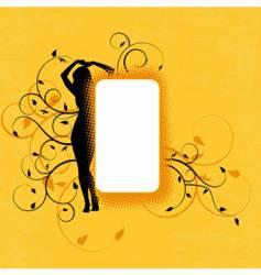 copy space design vector image vector image