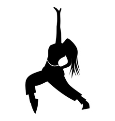 Dance simple icon vector