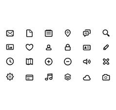 icon for web design vector image