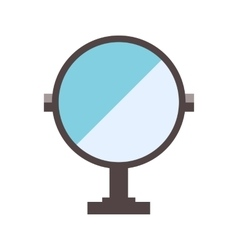 Mirror flat vector