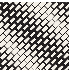Seamless Black And White Diagonal Rectangle vector image