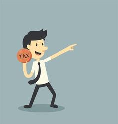 tax vector image