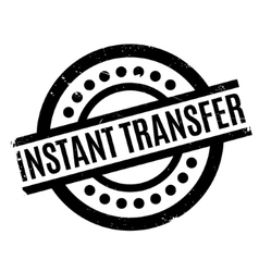Instant transfer rubber stamp vector