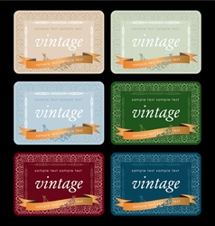 Wine labels17 vector