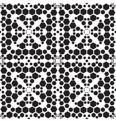 Abstract embroidery geometric seamless pattern vector