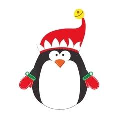 penguin cartoon icon image vector image