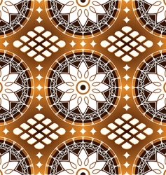 floral motifs background vector image