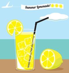 Lemon summer vector