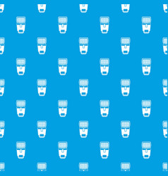 Lighting flash for camera pattern seamless blue vector