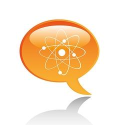 speech bubble icon vector image