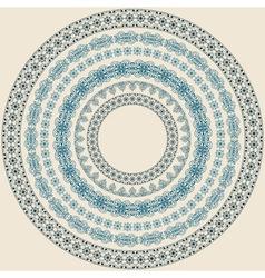 vintage circle vector image