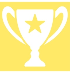 Trophy icon from competition  success bicolor vector