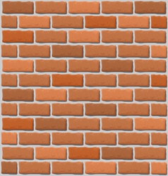 Brick wall texture vector