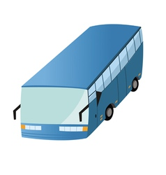 bus transit 2 vector image
