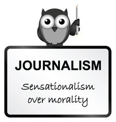 Journalism vector