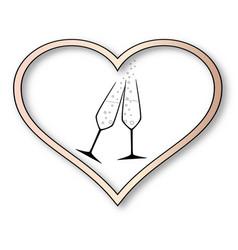 love celebration vector image vector image