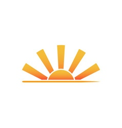 Sunrise-Logo-380x400 vector image vector image