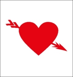 Arrows heart vector