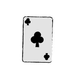 Casino card game concept vector image vector image