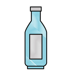 Plastic bottle isolated vector