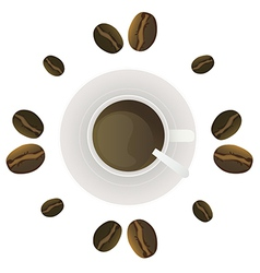 coffee2 vector image