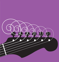Guitar strings vector