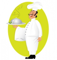 Professional chef vector