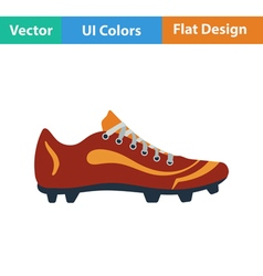 Baseball boot icon vector image vector image