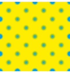 Blue star abstract seamless pattern vector