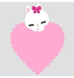 bunny 10 vector image vector image