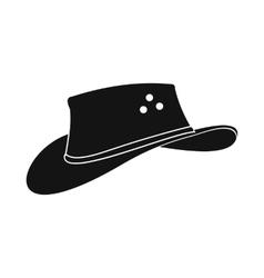 Cowboy hat icon simple style vector image vector image
