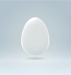 egg on blue vector image vector image