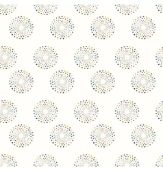 Painting seamless pattern - background vector
