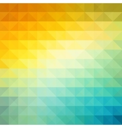 Abstract geometric background with orange blue vector