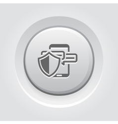 Safety messaging icon vector