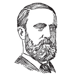 Charles parnell vintage vector