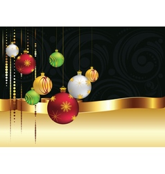 Decorative christmas ornaments4 vector