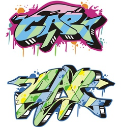 Graffito - cap vector