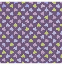 Seamless pattern with multicolored leaves vector