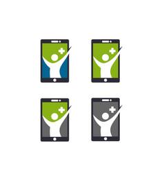 App health icon vector