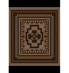 Motley geometric pattern for the original carpet vector