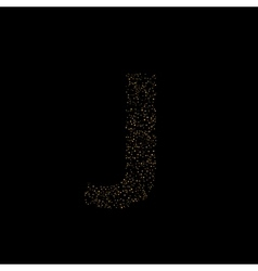 Magic j letter vector
