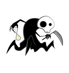Spooky reaper vector