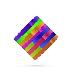Abstract square logo for your business vector