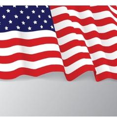 American flag patriotic vector