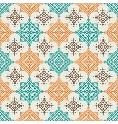 Boho style seamless pattern design vector image vector image