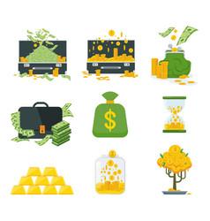Kind of money vector